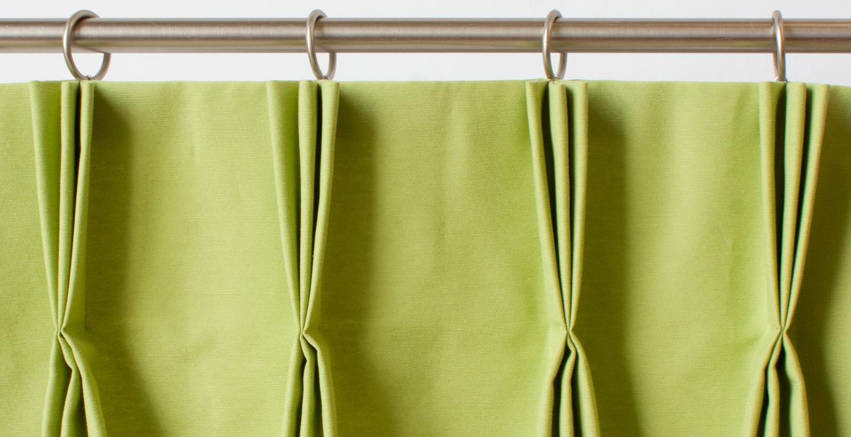 Как сшить складку на шторах