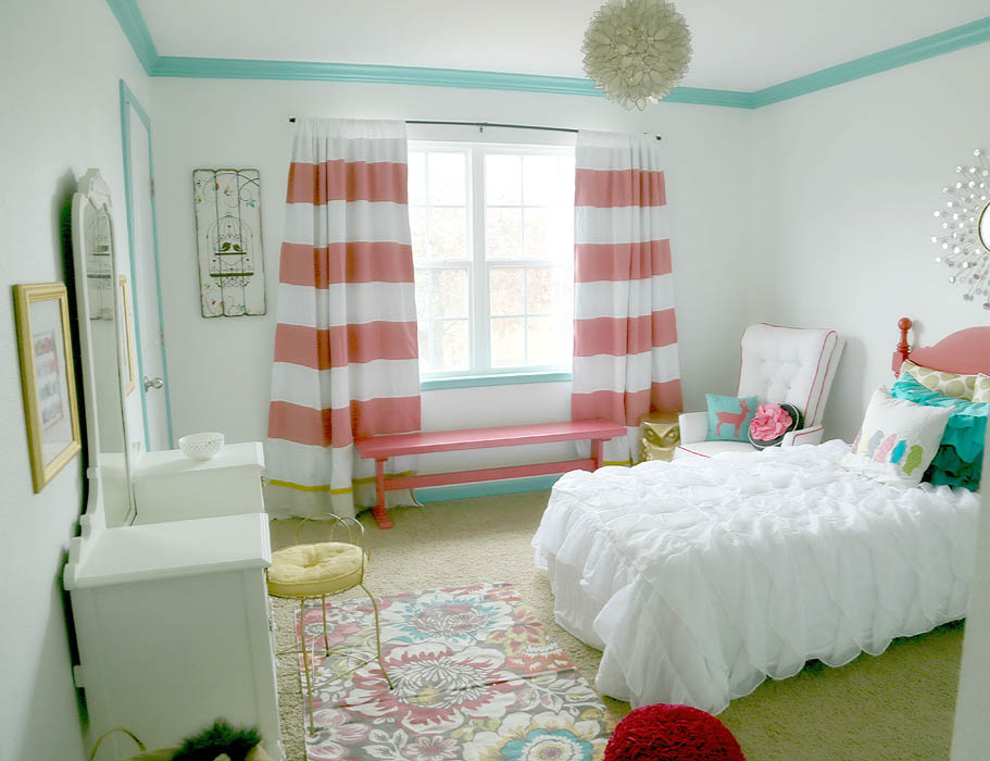 Baby bedroom curtains